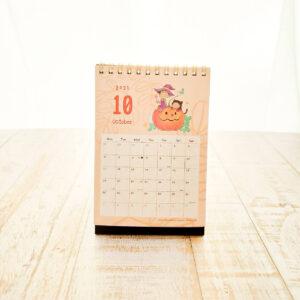 【2021年4月始まり】モリンガのきせき卓上カレンダー10月