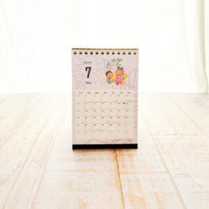 【2021年4月始まり】モリンガのきせき卓上カレンダー7月